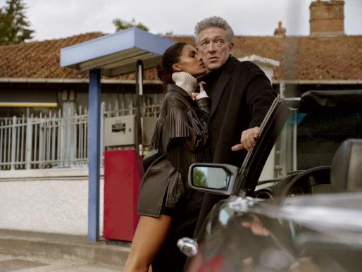 Тина Кунаки и Венсан Кассель в новой рекламной кампании The Kooples