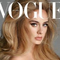 Адель на обложке британского Vogue